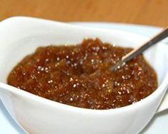 Cebolla Caramelizada Thermomix. Aqui hay varias con manzana, con queso, mermelada o vinagre