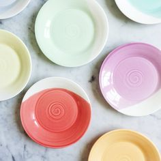 Dipped Plates #coloreveryday