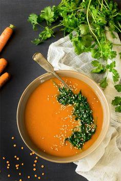 Veggie Recipes Healthy, Vegetarian Recipes Videos, Soup Recipes, Superfood Recipes, Vegan Recipes, Healthy Food, Healthy Chips, Vegan Soups, Diabetic Recipes