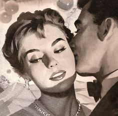 Dark Roasted Blend: Love & Romance (Vintage and Funny Pics)