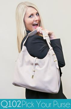 Vince Camuto - Molly Hobo. Go to wkrq.com to find out how to play Q102's Pick Your Purse!