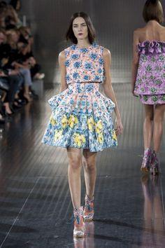 2014 designer labeled runway coats women pinterest | Mary Katrantzou Spring 2014