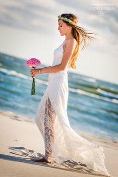 bride - my perfect beach wedding