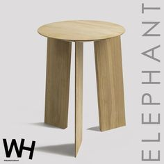 design side table, extra practice and contemporary furniture Hay Design, Contemporary Furniture, Stool, Elephant, Side Tables, Home Decor, Paintings, Stools, Homemade Home Decor