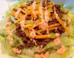 Big Mac in a Bowl | Weight Watchers Recipes