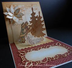 the best christmas wishes - pop up card
