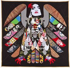 Quilts made from band T-shirts by Ben Venom  Sure wish I still had all my T's.