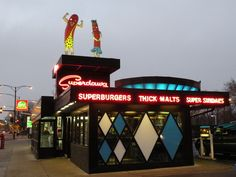 Super Burgers, Super Sundaes, Superdawg (Chicago Pin of the Day, 12/30/2014).