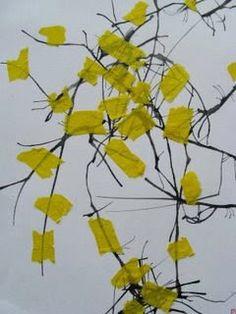 Pomůcky : barvy, tuš, krepový papír popř.barevný papír Motivace : Jakou znáte písničku nebo básničku o květinách? Pod naším okýnkem rosto...