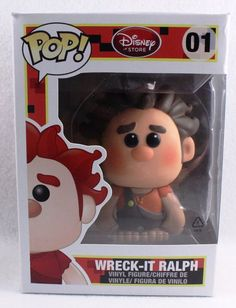 Funko Pop! Disney Store 01 Wreck-It Ralph Vinyl Figure #Funko