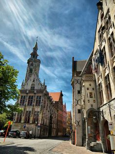 Porters' Loge on the Johannes Van Eyckplein, Bruges, Belgium