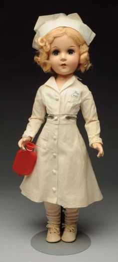 "Lot # : 70 - Very Desirable ""Miss Curity"" Nurse."