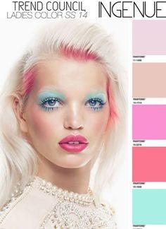 été 2014 tendances Maquillage