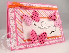 Think Pink for All Our Sisters - Stampin' Up! Demonstrator - Mary Fish, Stampin' Pretty Blog, Stampin' Up! Card Ideas & Tutorials