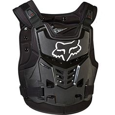 Fox Racing Proframe LC Roost Deflector (S/M, Black)  Low profile neck brace compatible roost deflector  Adjustable shoulder straps for a precise fit with or without a neck brace  Easy to use buckle system integrated into chest plate  Removable back plate allows rider to wear as chest plate only  2 position adjustable back plate for a precise fit