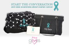 We are proud to help to raise awareness of this very important cause. For every ribbon purchased, 31 cents will be donated to Thirty-One Gives. Ribbons are available in every color offered in the Fall Catalog, including turquoise, which is shown here, letting you choose the ribbon that supports the cause closest to your heart.
