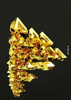 Crystallized Gold is amazing and a rare find of Treasure.  Not just worth the weight of gold value, but up to 25X's more to collectors.  TreasureForce