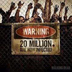 20 millions de fans Facebook pour The Walking Dead !