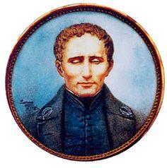 Louis Braille,4/1/1809 born