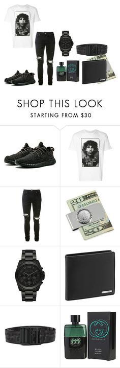 """""""boys back to school outfits"""" by thenewclassic-278 on Polyvore featuring Neil Barrett, AMIRI, Michael Kors, Porsche Design, Off-White and Gucci"""