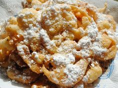The Disney Diner: Sleepy Hollow: Funnel Cake Recipe... Try in a waffle iron instead of frying
