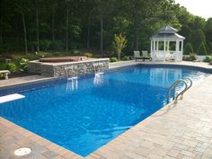 Pool Patios | Poolscapes | Poolside Patios | Mason Contractors Hamptons Long Island