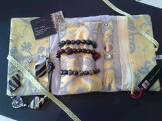 trousse  à  bijoux   (les  bijoux  présenté  ne  sont  pas  à vendre )  à  venir  découvrir sur  ma  page https://www.facebook.com/Phyloecreation