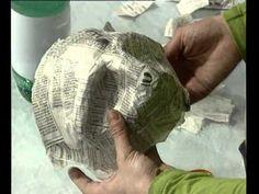 laboratorio incantato a cura di roberto gandini III° puntata loredana spadoni fa le maschere - YouTube