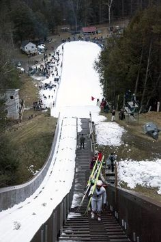 You don't have to be a ski jumper to enjoy ski jumping, it's the beauty, grace and thrill of watching top notch athletes float through the air that attract attention. You can get that thrill at Salisbury Connecticut the weekends of January 25-27 and February 8-10, 2013.