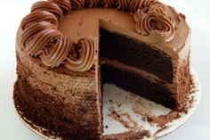 Blog de MeEncantaelChocolate.com: Torta de tres chocolates