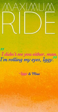 Max and Iggy--- Maximum Ride