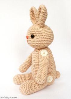 easy amigurumi bunny pattern