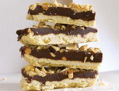 Semisweet Chocolate and Peanut Bars