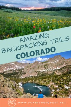 travel united states The best backpacking trails in Colorado. Excellent wilderness camping in the Rocky Mountains, the San Juan Mountains, and more. Adventure travel and backpacking near Denver, Colorado in the United States. Colorado Backpacking, Backpacking Trails, Colorado Trail, Denver Colorado, Hiking Trails, Hiking Places, Durango Colorado, Colorado Springs, Backpacking For Beginners