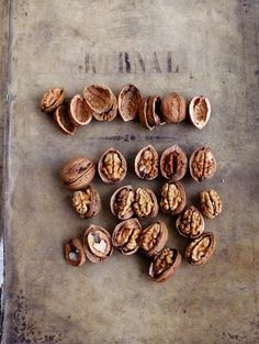 Nuts via Dietlind Wolf- So simple, so yummy! Food Photography Styling, Food Styling, The Kinfolk Table, Fruit Recipes, Food Design, Fresh Fruit, Food Art, Food Inspiration, Food And Drink