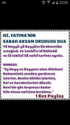 Hz. Fatıma'nın duası Life Lessons, Allah, Quotes, Sodas, Quotations, Life Lesson Quotes, Quote, Shut Up Quotes