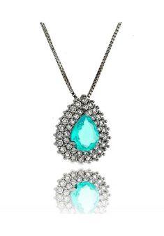69 melhores imagens de Agua marinha   Big earrings, Trends e Fashion ... ac4288c621