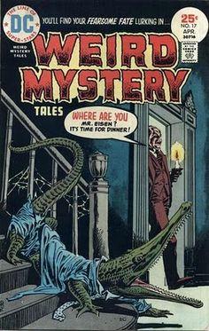 DC Comics' Weird Mystery Tales #17. #WeirdMysteryTales