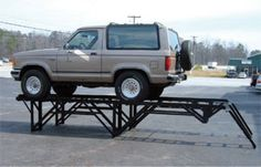 "Car stands 800-258-9010 ""car display ramp"" - http://www.vehicledisplays.com/car-stands-car-display-ramps/"