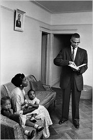 Malcolm X and Family. – Theresa Flaherty Malcolm X and Family. Malcolm X and Family. Malcolm X, Black History Facts, Black History Month, Black Power, Betty Shabazz, Couple Noir, Kings & Queens, Vintage Black Glamour, By Any Means Necessary