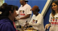 MASTER P's 15th ANNUAL THANKS GIVING DINNER - LET THE KIDS GROW   WRECKOGNYZE