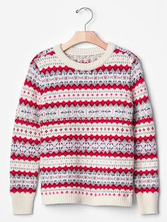 Fair isle sweater Product Image