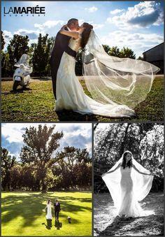 LANDEL esküvői ruha Pronovias kollekció - Petra menyasszonyunk http://mobile.lamariee.hu/eskuvoi-ruha/pronovias-2014/landel