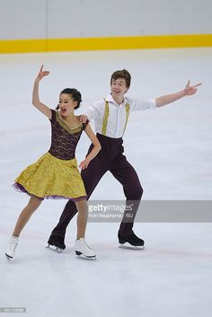 News Photo : Seungyun Han and Grayson Lochhead of Canada...
