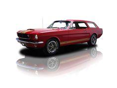 Custom Mustang Wagon - custom, wagon, mustang, hotrod, automobile, classic, 1965, car, unique, antique