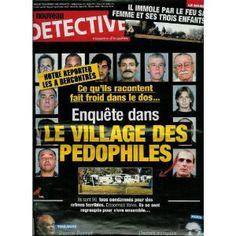 Le Nouveau Détective - n°1374 - 14/01/2009 - Enquête dans le village des pédophiles [magazine mis en vente par Presse-Mémoire]