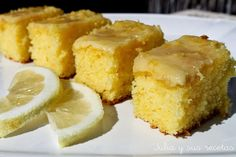 Brownie de Limón ~ Recetas Faciles Reunidas