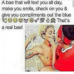 I Guess My Bae Is Real Then...