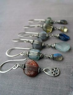 The Line Up by Brenda McGowan Jewelry/ Studio B, via Flickr
