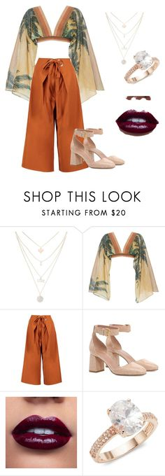"""""""Untitled #8"""" by asia-lezon on Polyvore featuring Água de Coco, Boohoo, RED Valentino and Saks Fifth Avenue"""